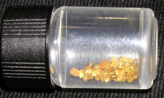 Gold Found in Texas